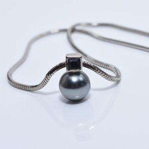 Jewelry - Blue Pearl & Stone Set